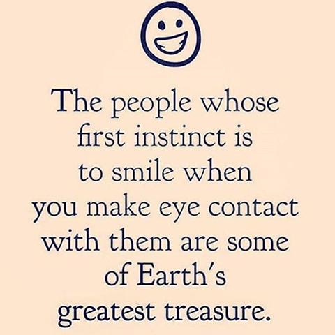 positive friendly attitude