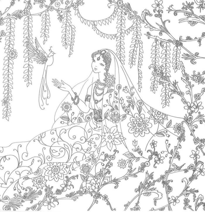 Cover Reveal Interior Images For Fairy Tale Coloring Book By Tomoko Tashiro