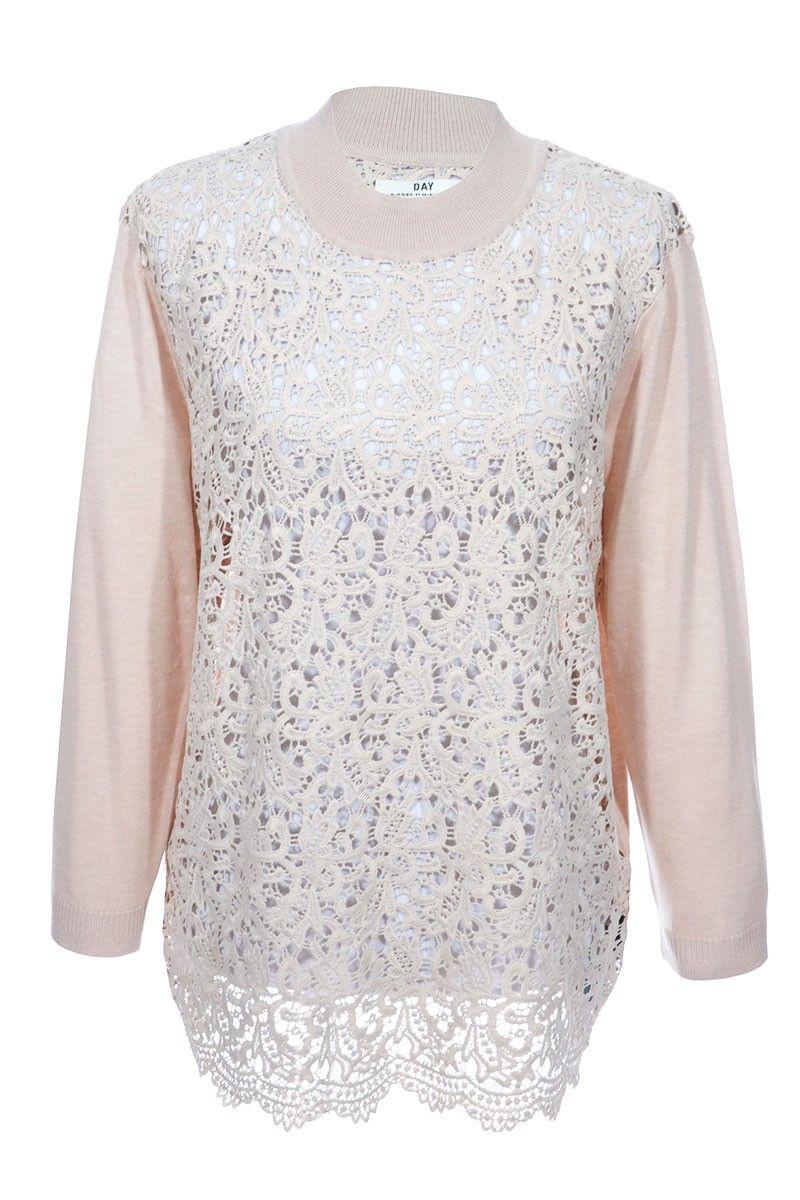 #DAYBirgeretMikkelsen #Pullover #Spitze #Fashion #Clothes #Vintage #Secondhand #Fashionblogger #Onlineshopping #Mode #MyMInt