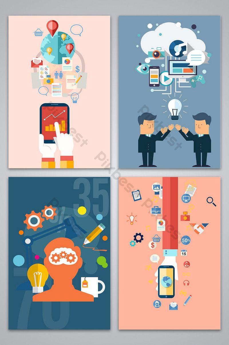 الأعمال الاقتصادية الكرتون شخصية الخلفية خلفيات Psd تحميل مجاني Pikbest Business Cartoons Cartoon Background Cartoon Characters