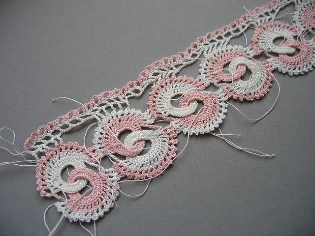 Crocheted edging | crochet for fun | Pinterest | Patrones, Triste y ...