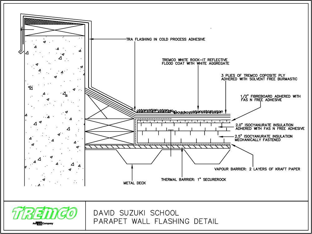 Concrete parapet detail google search bdcs pinterest for Parapet house plans
