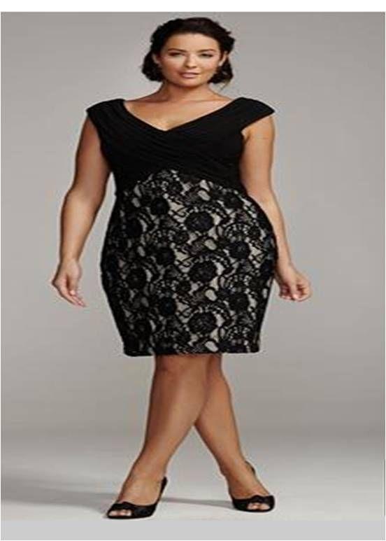 c1216b34ac9 piniful.com plus-size-party-dresses-10  plussizefashion