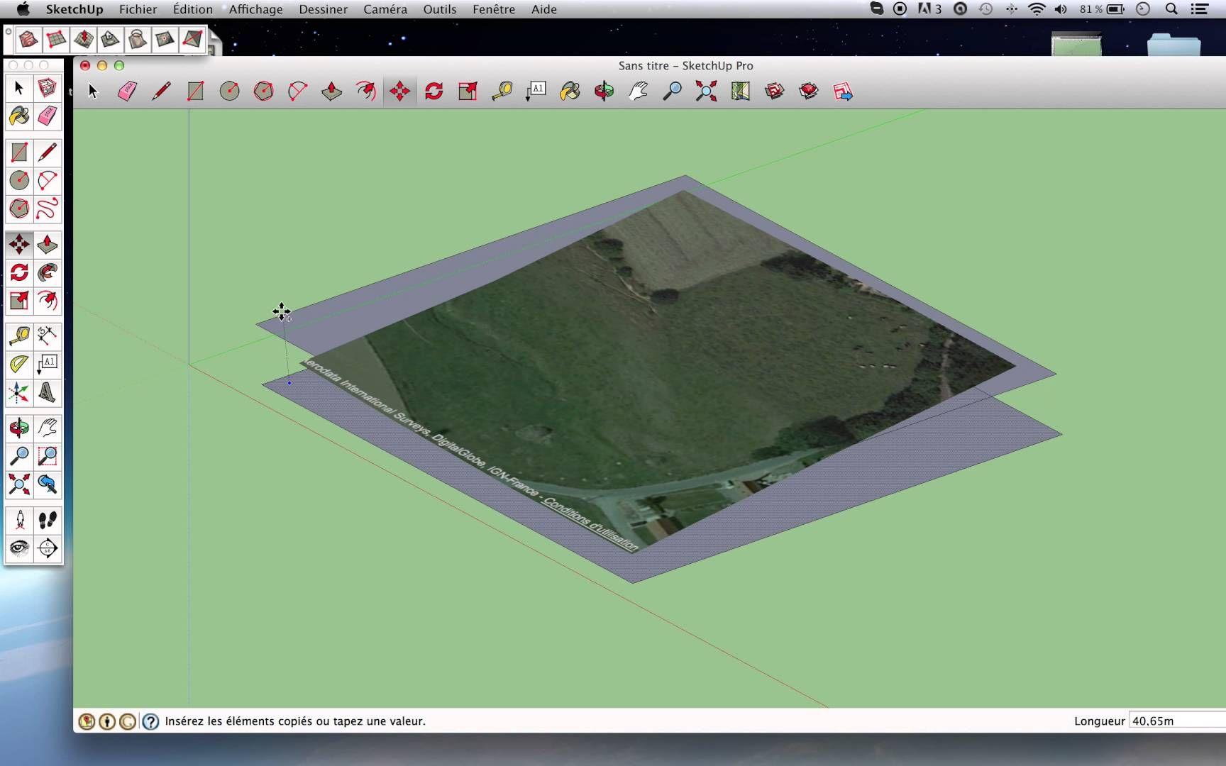 Tuto Sketchup - Modéliser un Terrain en 3D rapidement. ... Indeed.. it's quicker !!