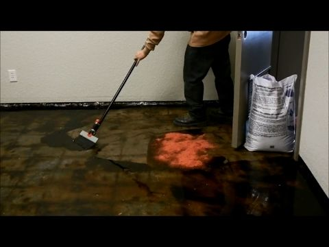 Step By Step Process On How To Remove Black Mastic Mastic With Asbestos Carpet Glue Of Concrete Floor Using Sealgree Carpet Glue Tile Removal Concrete Floors