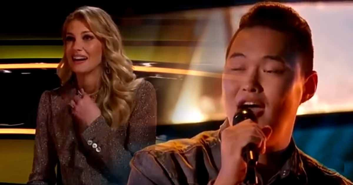 Mongolian Singer Shocks Faith Hill with George Strait Song