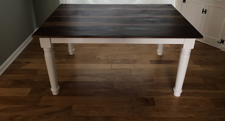 Farmhouse TableSolid WalnutDining TableHandmade Custom Made Table