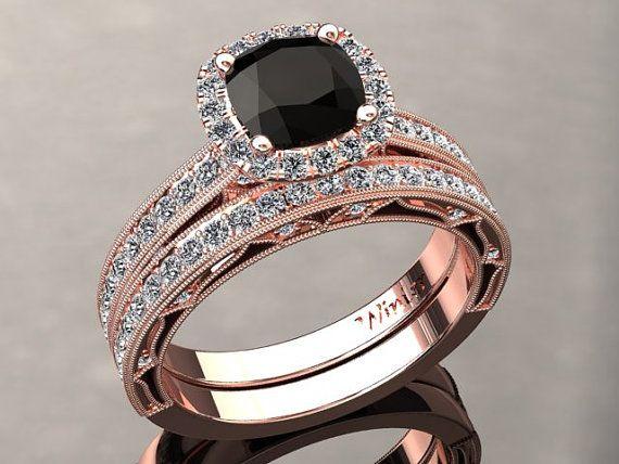 22+ Black wedding rings for women ideas ideas