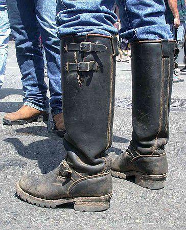 Muddy Wesco Boss Boots Engineer Boots Men Mens Biker Boots Boots
