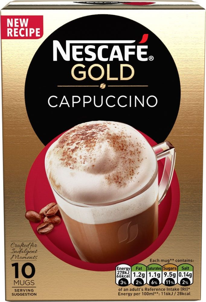 Details about Nescafe Cafe Menu, Choose from 19 Various