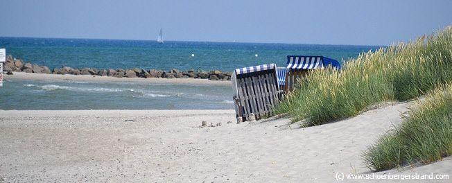 Strand in Kalifornien an der Ostsee Ostsee urlaub