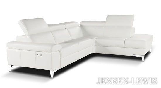Contemporary Design Group Capri Motorized Sectional Sofa