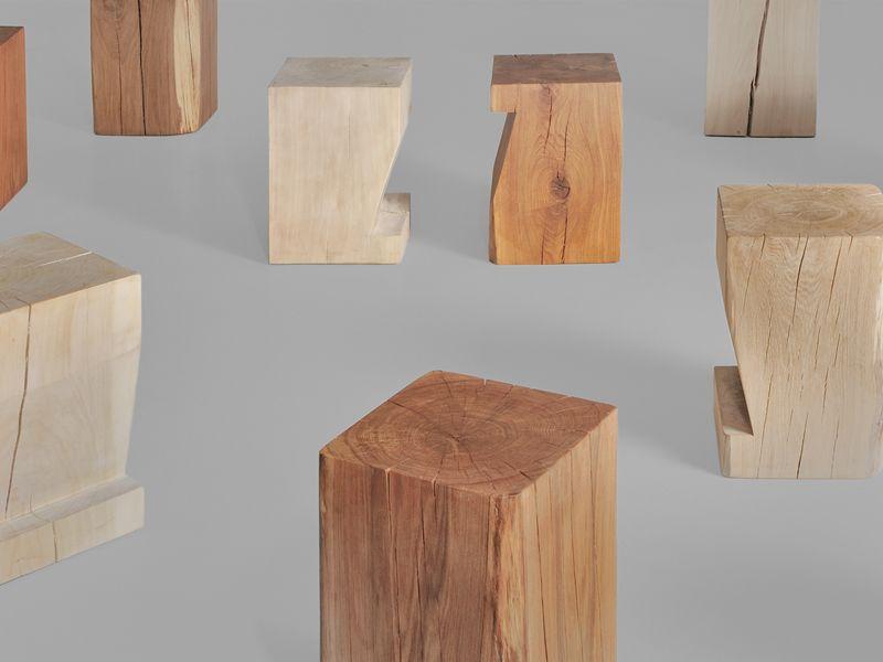 Sgabello bambini ~ Sgabello in legno klotz pfeife collezione klotz by vitamin design