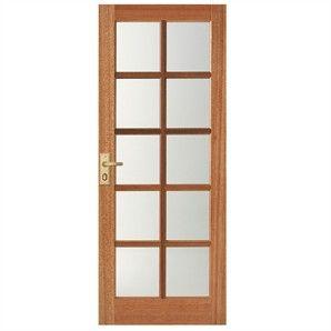 Windsor 10 Lite Entrance Door - Bunnings Warehouse | Bunnings home ...