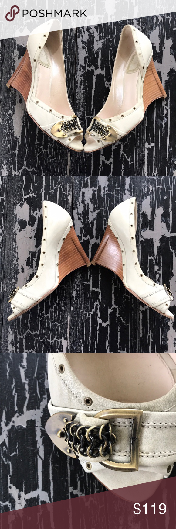 Christian Dior Wedges Spotted while shopping on Poshmark: Christian Dior Wedges!