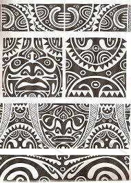 Risultato dell'immagine per i modelli di tatuaggio maori #eching Risultato dell'immagine per il tatuaggio di maori v …