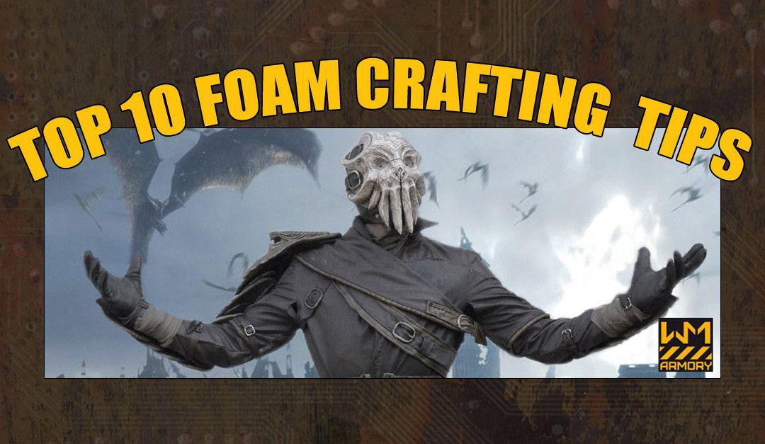 Top 10 Foam Crafting Tips Cosplay Pinterest Cosplay Tutorial