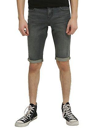 XXX RUDE Dark Indigo Vintage Wash Skinny Shorts, | Fashion ...