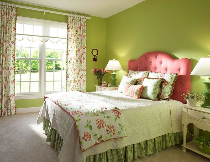 20 Fun Pink And Green Bedroom Designs Bedrooms Pinterest