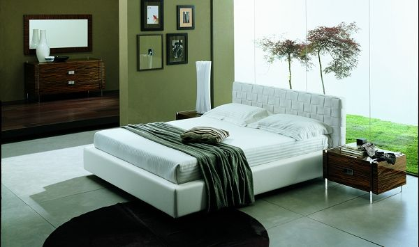 Luxor Italian Bed King Size Contemporary Bedroom Sets Bedroom