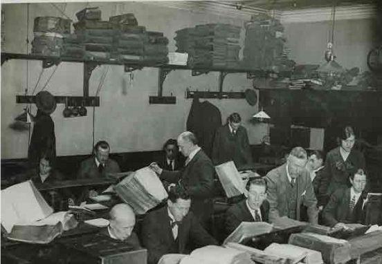 The 'Private Telegraph Room.'