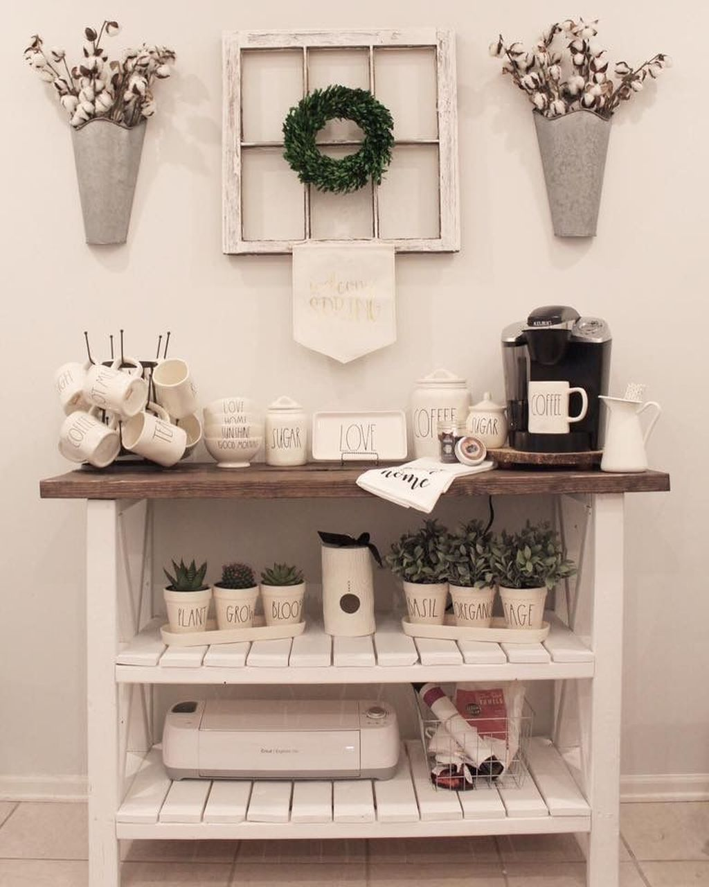 Home Coffee Bar Design Ideas: 30+ Latest Diy Coffee Station Ideas In Your Kitchen