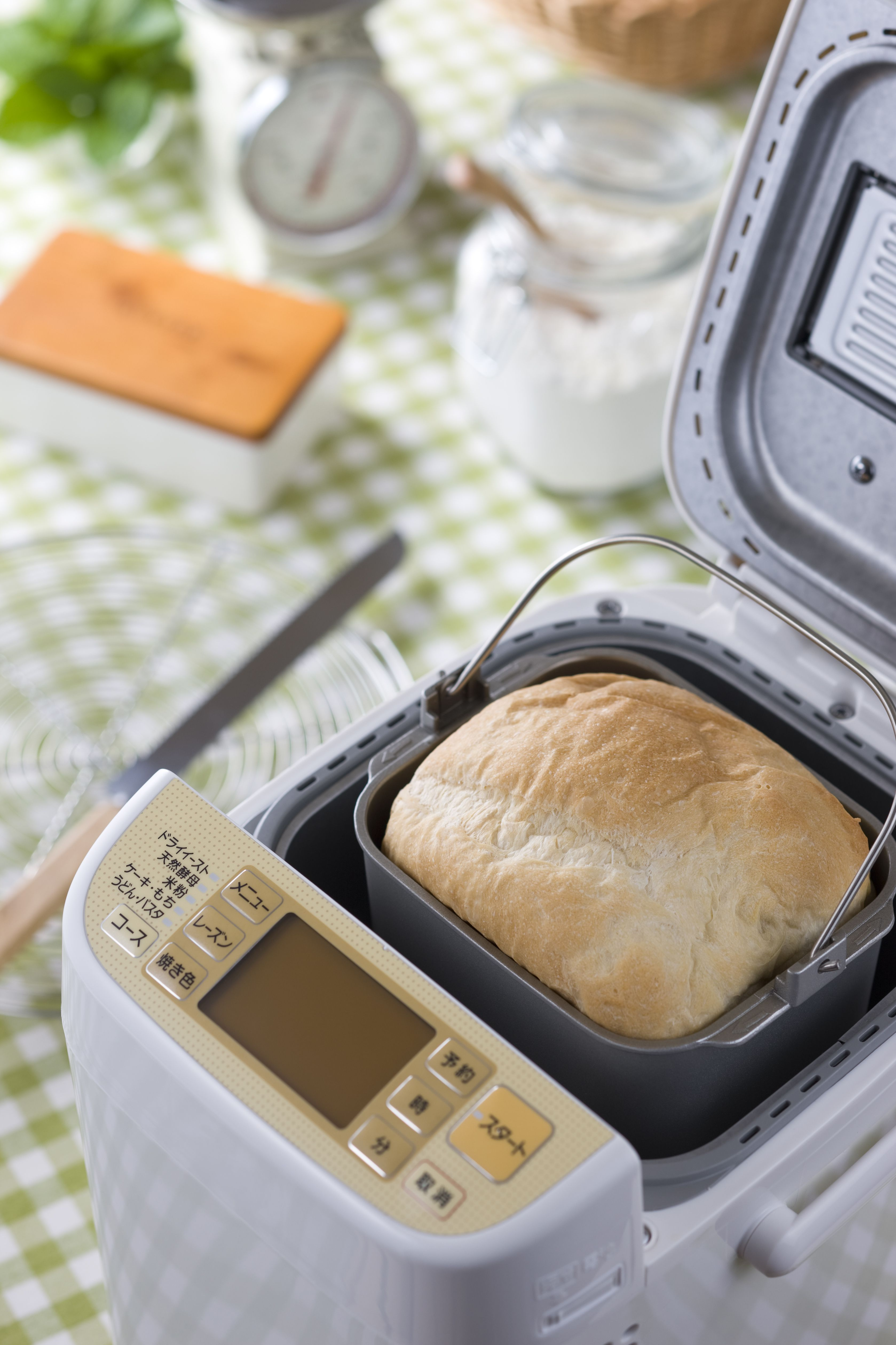 Start Your Homemade Bread In The Machine Bake In The Oven Bread