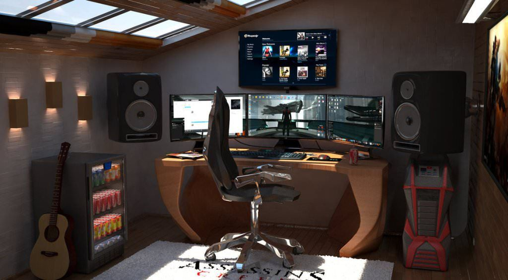 The Better Of Gamer Bedroom Concepts Gaming Room Setup Video Game Rooms Game Room Design