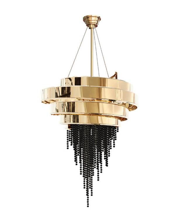 Tuesday Trending Dramatic Arts Mecc Interiors Inc Modern Gold Chandelier Swarovski Crystal Chandelier Gold Chandelier Light