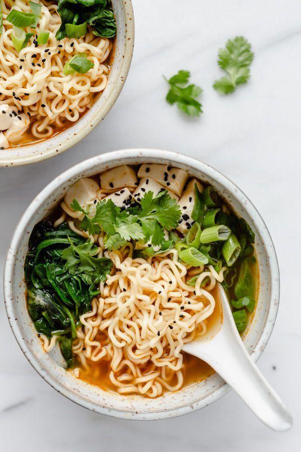 Quick & easy vegan ramen | Rezept | Vegane ramen, Ramen essen und Einfache gerichte