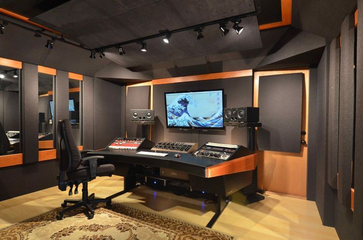 Bedroom Recording Studio Design
