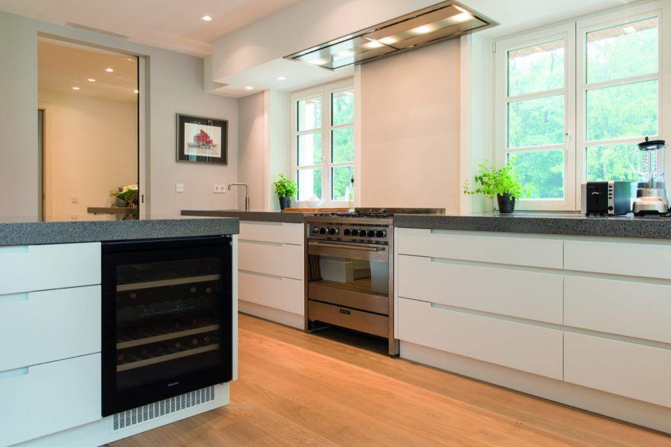 Modern keuken ontwerp met eettafel keuken design kitchen