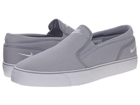Nike Toki Slip Textile Wolf Grey/White - Zappos.com Free Shipping BOTH  Ways. Style MenWolfMen ...