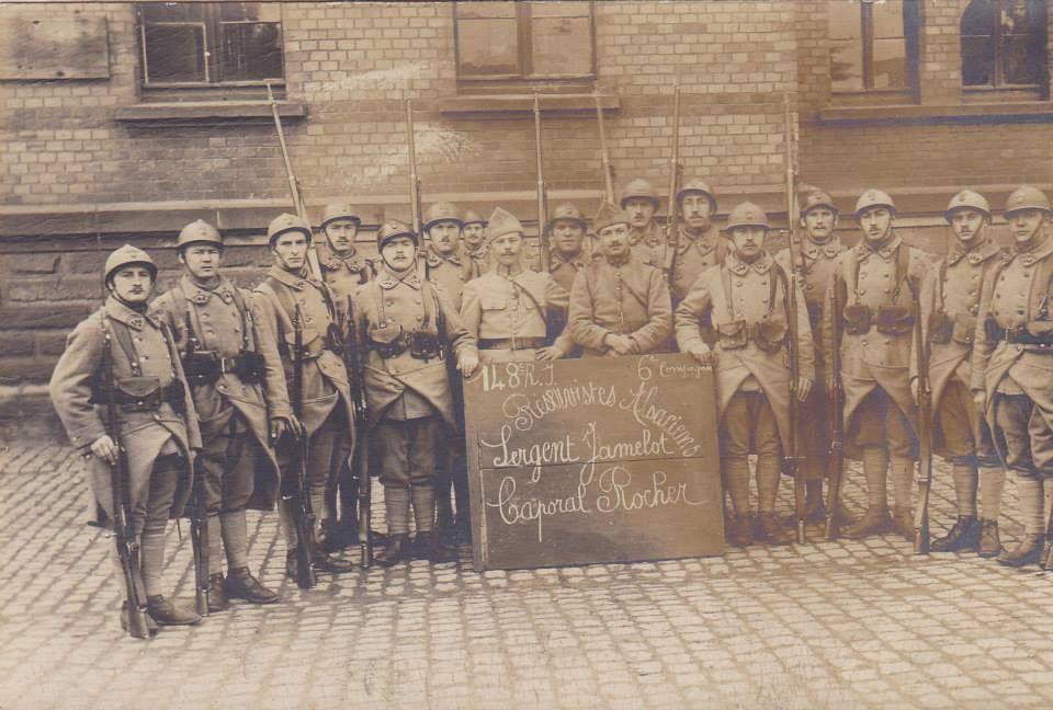 148* régiment d infanterie  sergent javelot     et  caporal rocher