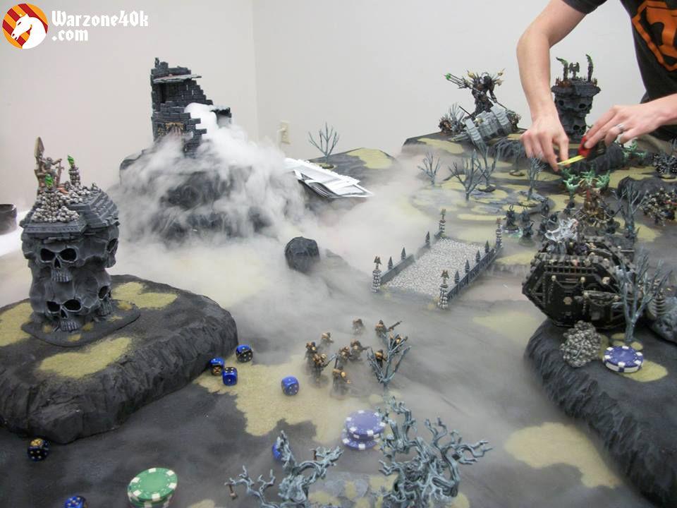 Smoke on the board - Forum - DakkaDakka | Toy Soldiers for *real* men. #wargamingterrain