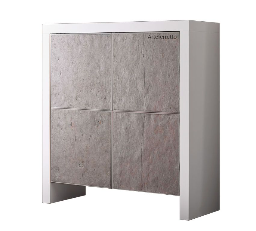 Highboard mit Stone-Türen, sehr schö, Design from Italy, Neu www - tür für küchenschrank