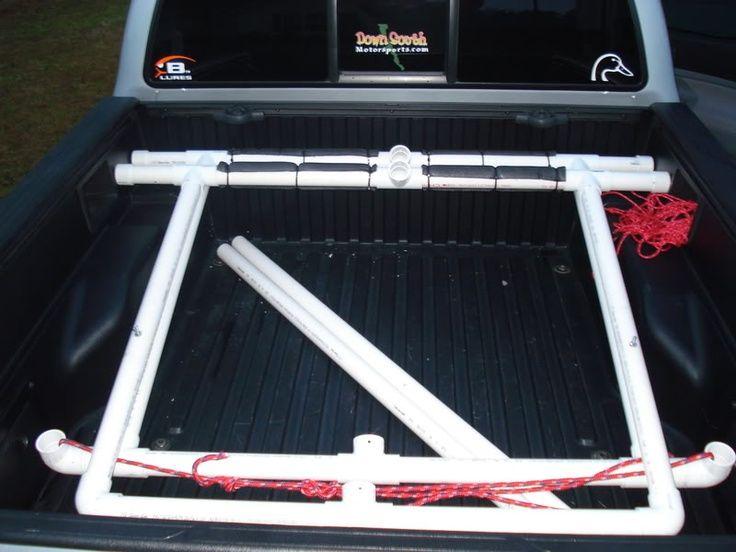 Homemade Pvc Kayak Truck Rack - Homemade Ftempo