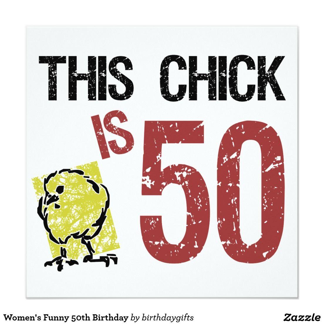Women S Funny 50th Birthday Card Zazzle Com 50th Birthday Funny 50th Birthday Quotes Funny 50th Birthday Quotes