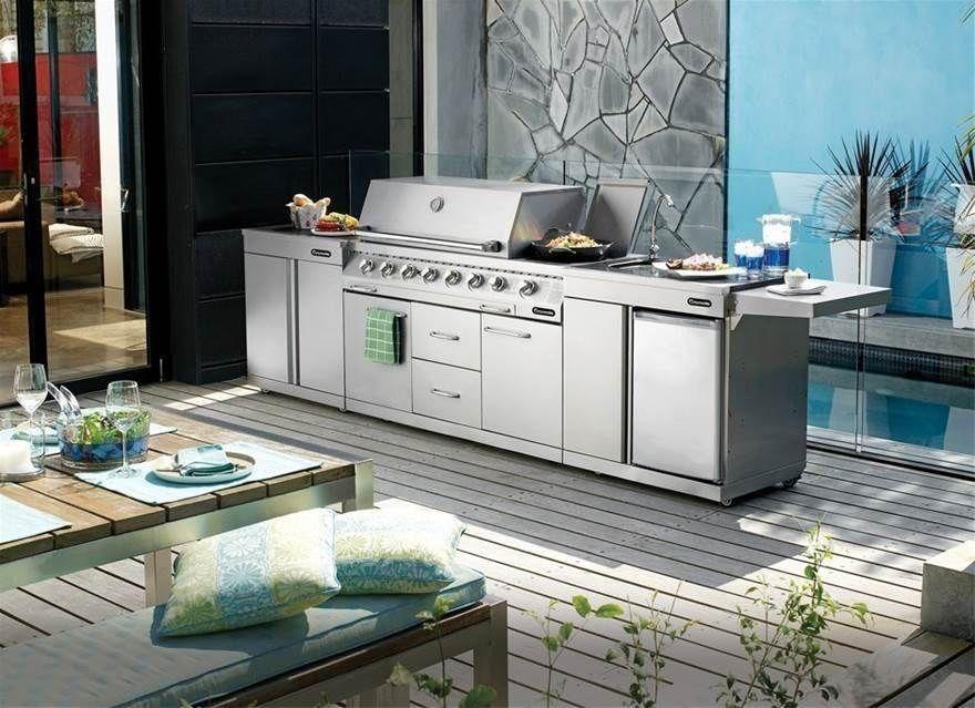 Gasmate platinum 6 burner outdoor kitchen bbq bbq
