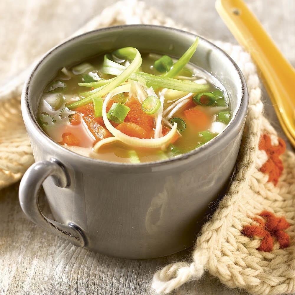 Recetas de sopa de verduras para bajar de peso