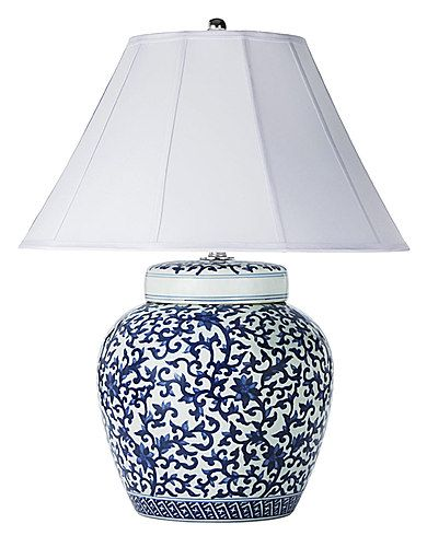 Apartmentf15 Blue White Asian Inspired Lamps Blue And White Lamp Lamp Asian Decor