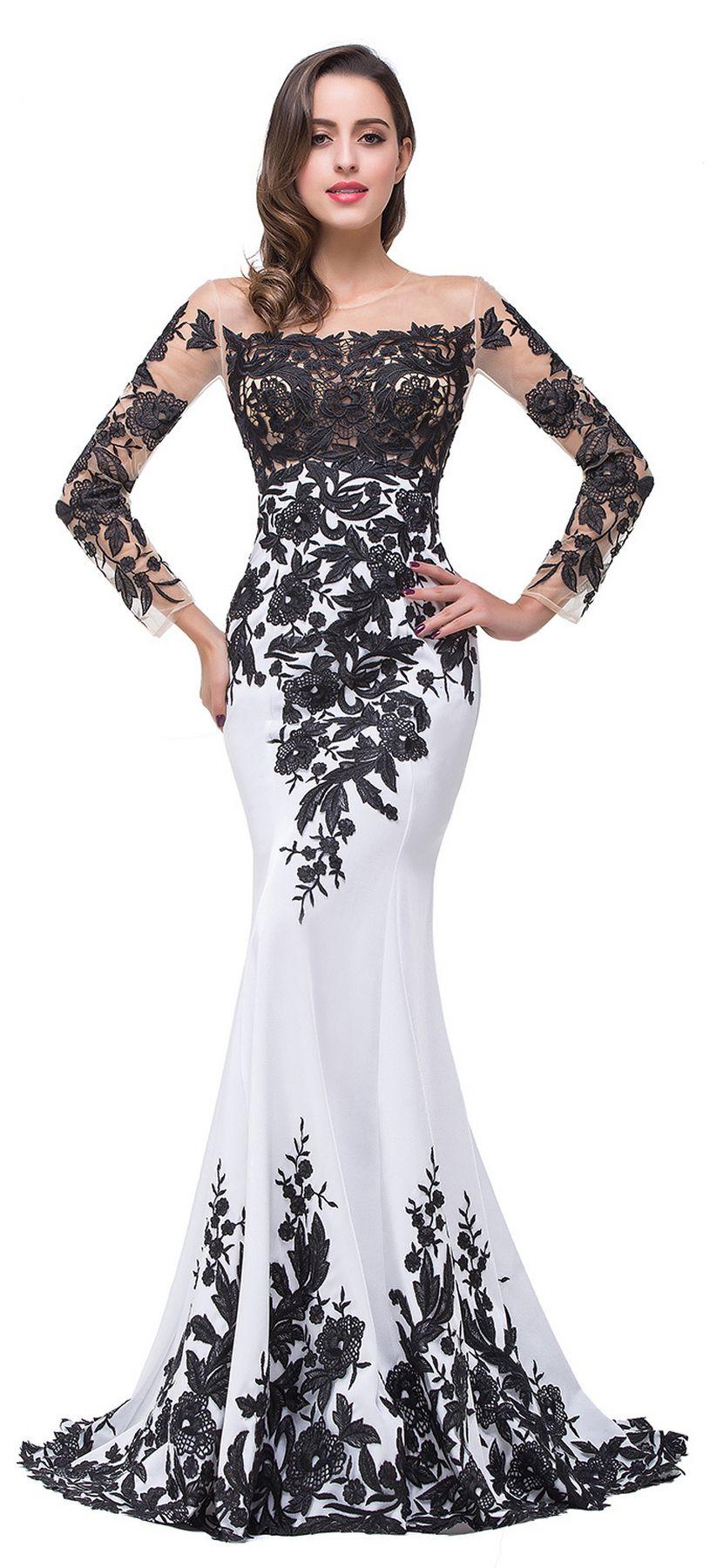 Popular black long sleeve wedding dresses ideas wedding dresses