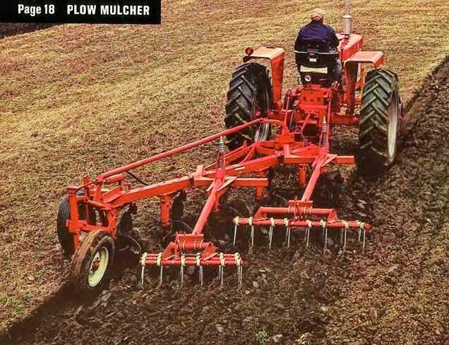 Ih Plow Mulcher Vintage Tractors Old Tractors Farmall Tractors