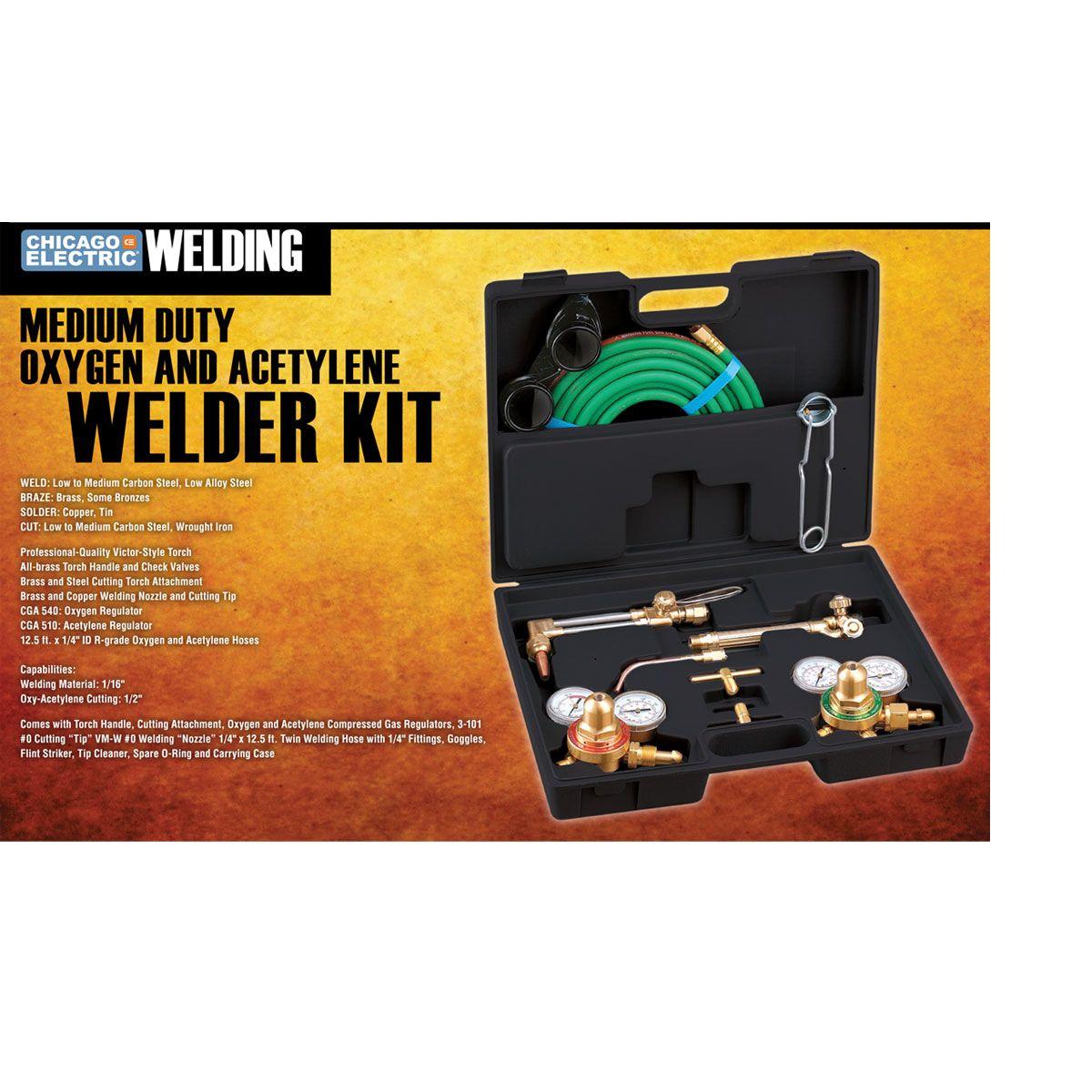 Oxygen And Acetylene Welding Kit Welding Projects Welding Welded Metal Projects