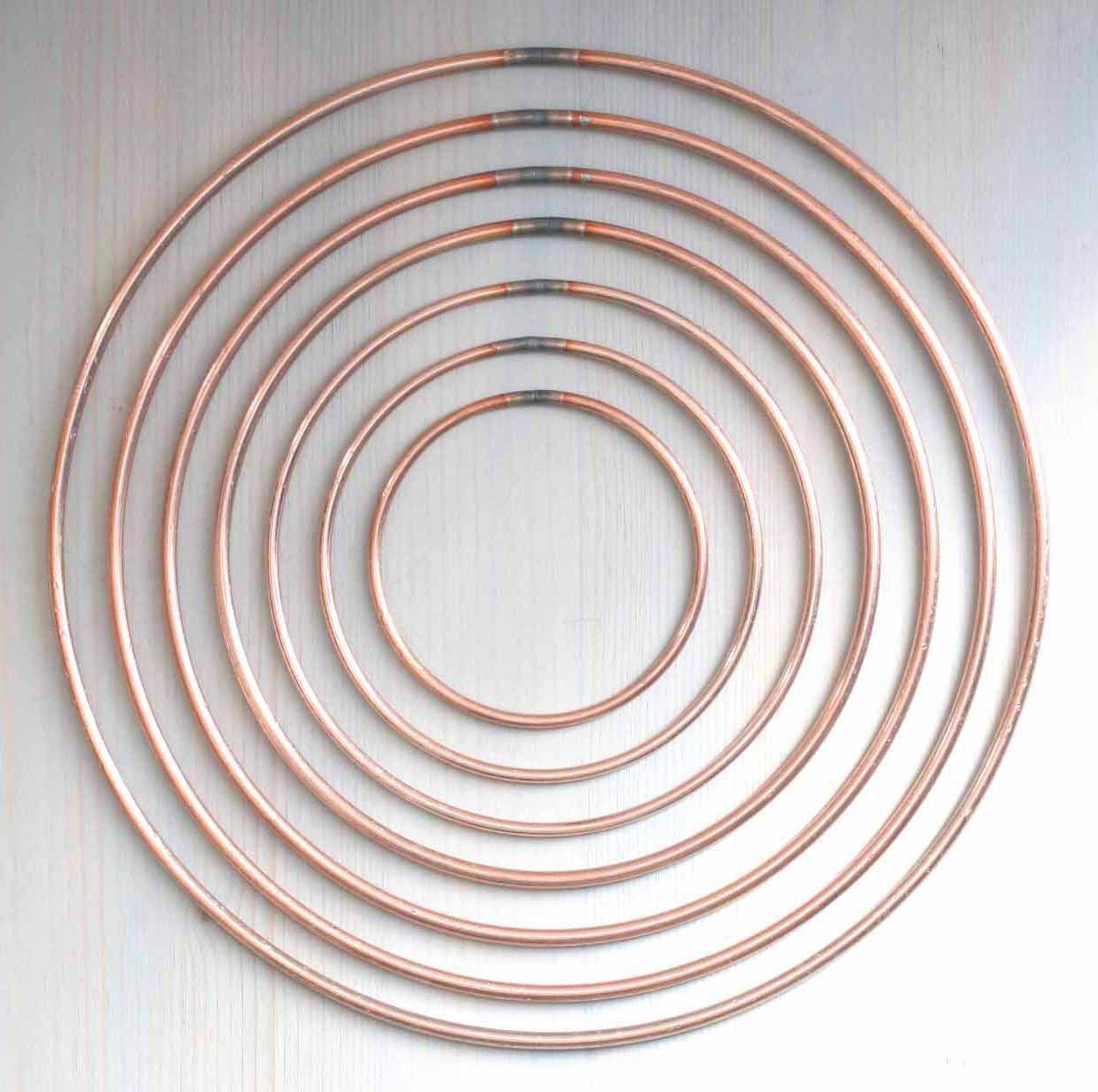 Welded Metal Dream Catcher Dreamcatcher Ring Macrame Craft Hoop DIY Circle