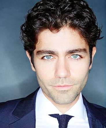 adrian grenier wavy hair with messy hairstyle  curly hair