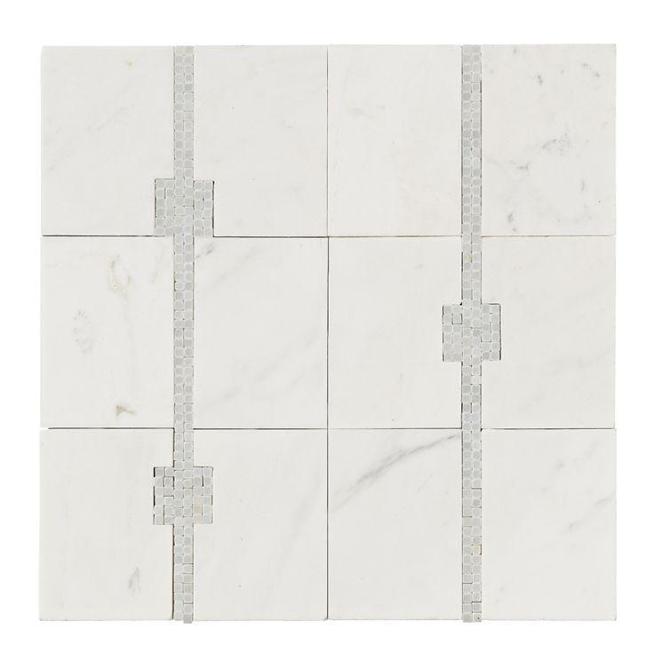 "Master Bath Names master bath floor tile ""rug"" jeffrey court: time square mosaic 16"