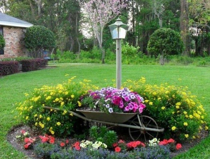 1001 conseils et mod les pour cr er une parterre de fleurs garden pinterest parterres de. Black Bedroom Furniture Sets. Home Design Ideas