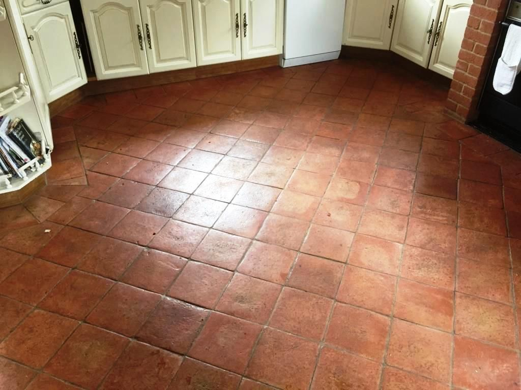 Image result for terracotta tile kitchen new house dreaming terracotta floor before cleaning in fifield dailygadgetfo Images