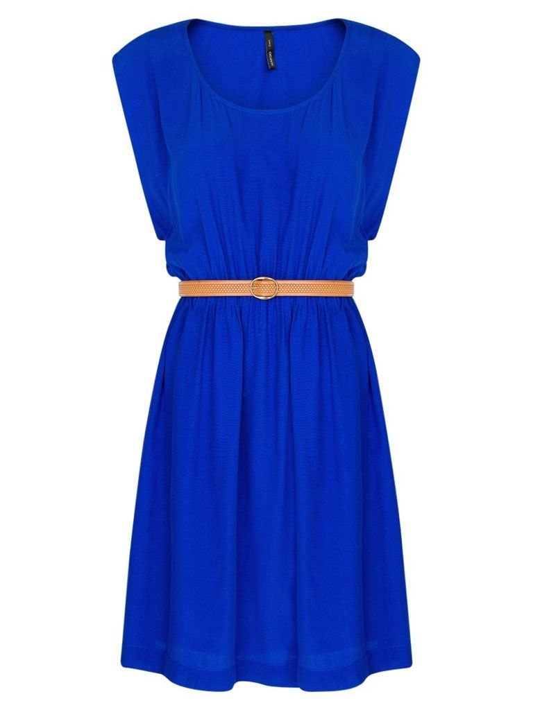 Snap Fashion - Mango Embossed Belt Dress from John Lewis